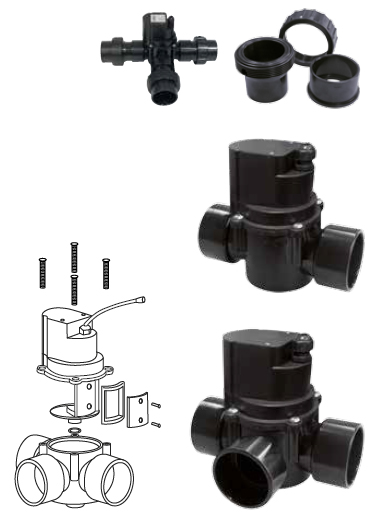 Blue Lagoon 2- & 3-way Cylinder Valves