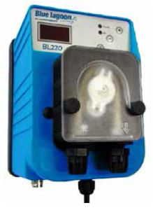 Blue Lagoon Peristaltic Dosage Pumps