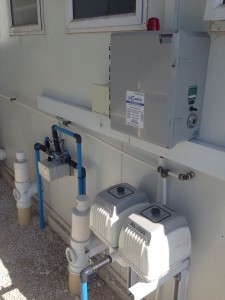 Clarus Fusion ZF4000 blower, panel and switching valve