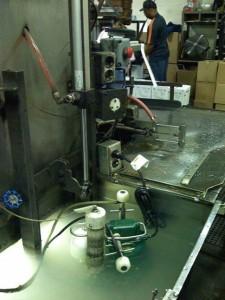 Zoeller Factory Wet testing